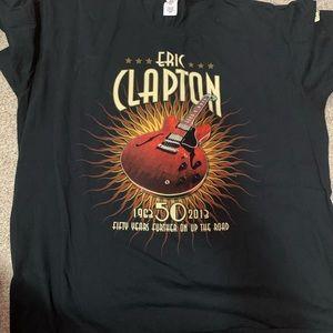 Men's size 2XL Eric Clapton concert T-shirt